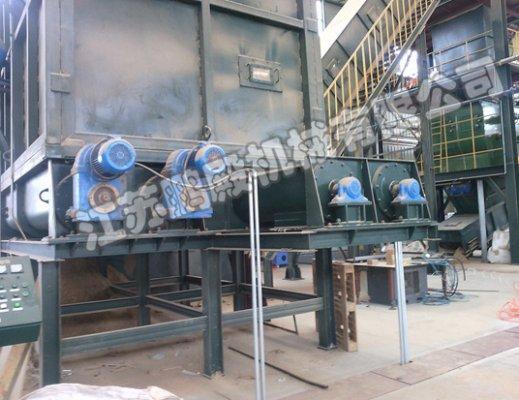 捷运环保材料有限公司双螺旋输送机