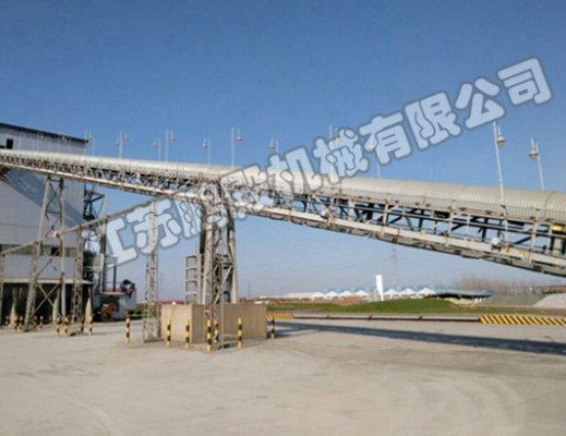 上海新型材料有限公司皮带输送机280米皮带输送机