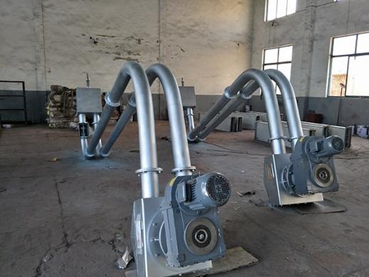 管链输送机厂家告诉你管式螺旋输送机的特点及技术参数