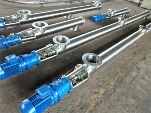 不锈管螺旋输送机无缝管的检测方法